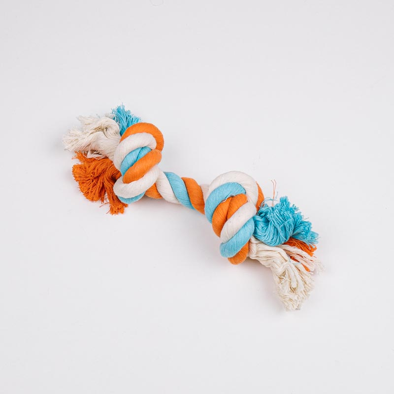 Large Bone - Blue / Orange / White - 30cm